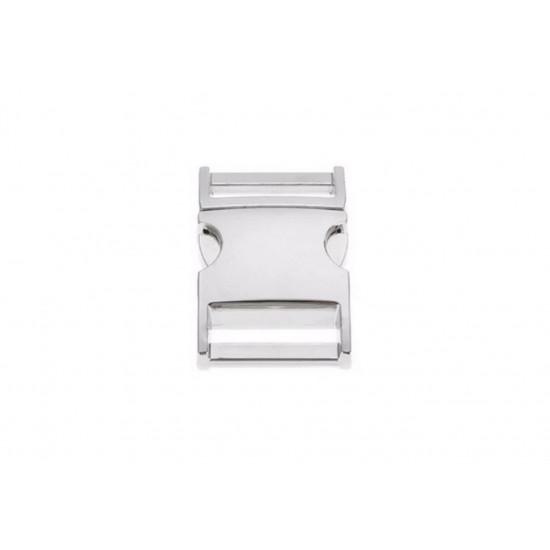 Spona trojzubec - stříbrná (20mm)
