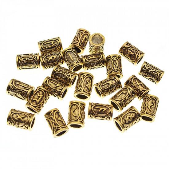 Vikingské runy (zlaté)