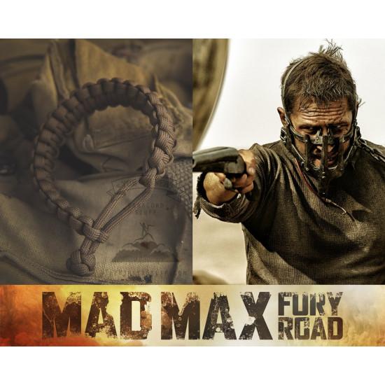 Survival paracord náramek Šílený Max (Mad Max)