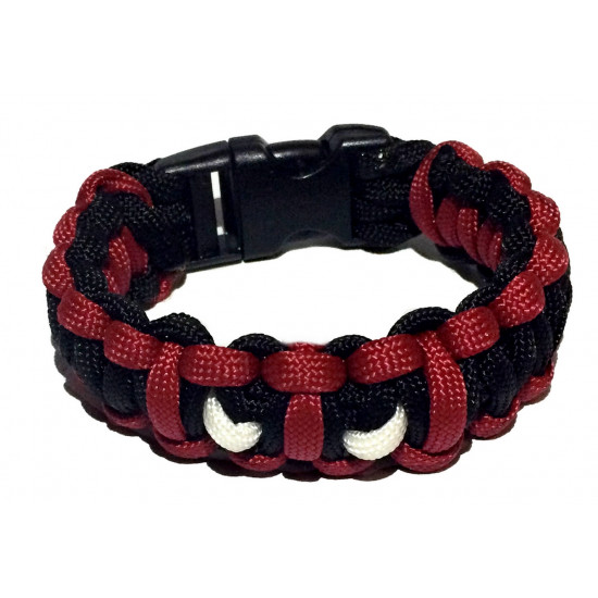Survival paracord náramek DEADPOOL