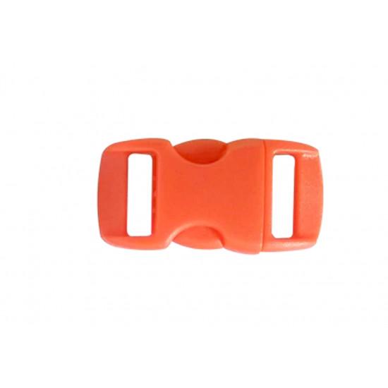 Plastová spona - oranžová