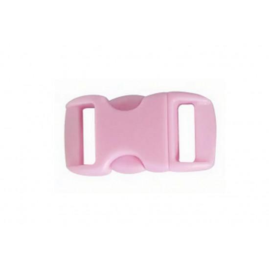 Plastová spona - světle růžová