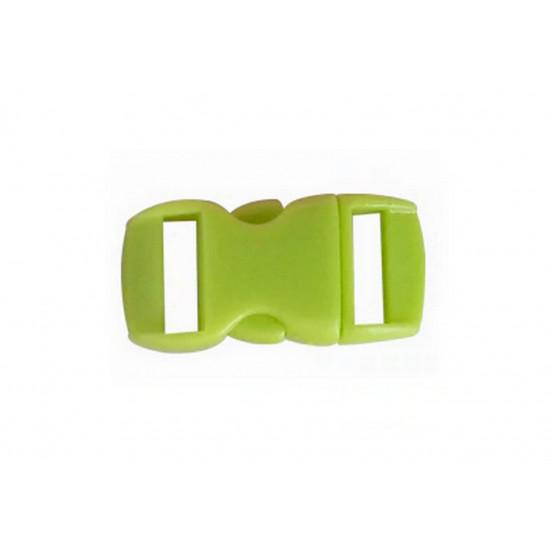 Plastová spona - světle zelená