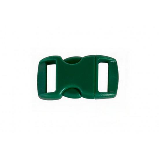Plastová spona - tmavě zelená