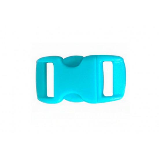 Plastová spona - tyrkysová
