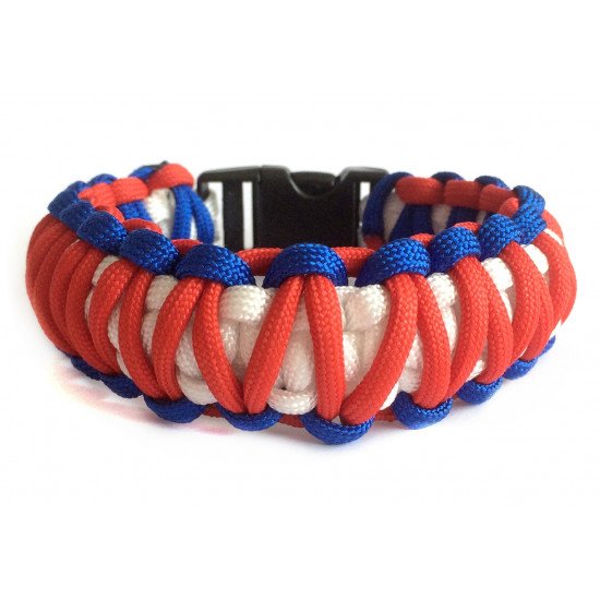 Survival paracord náramek - Spider-man Kobra